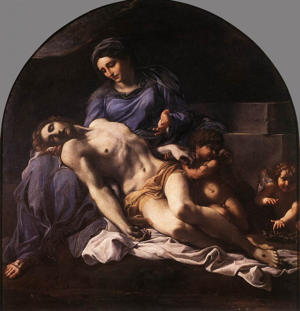 Pieta-by-Annibale-Carracci