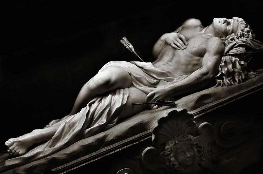 st-sebastian-black-and-white-angela-bonilla